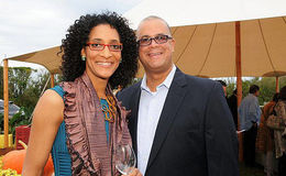 Chef Carla Hall married life with husband Matthew Lyons; They met through a dating site