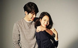 Kim is unmarried but is in a relationship with a Korean singer and dancer, Shin Min-a