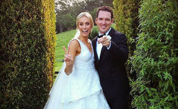 Congratulation Sylvia Jeffreys and Peter Stefanovic for their wedding But all eyes are on Karl