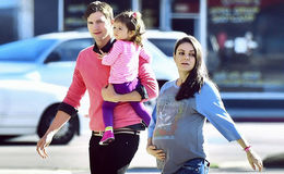Mila Kunis Welcomed second Baby with her Husband Ashton Kutcher