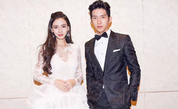 28 years Model Angelababy Married Huang Xiaoming and living Together with their Children
