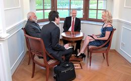Megyn Kelly for NBC asked Indian PM Narendra Modi If he has Twitter