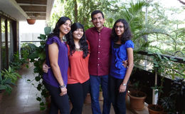 Sanjeev Kapoor is Living Happily With his Wife Alyona Kapoor and Children