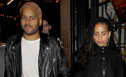 Zoe Kravitz and Twin Shadow rushes to a showing of Hamilton