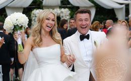 Kym Johnson and Robert Herjavec Opens Up About Their One Years Of Married Relationship