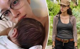 The Walking Dead Star Christian Serratos Gives Birth To First Child, Announces On Instagram, See Pic