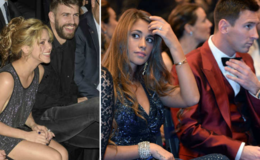 Gerard Pique and his Girlfriend Shakira Uninvited at Messi's Wedding