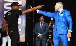 CONOR McGREGOR has staggeringly insulted Floyd Mayweather over his household manhandle conviction