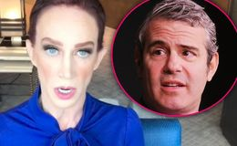 '100% False': Andy Cohen Calls Kathy Griffin's Accusations of Drug Use