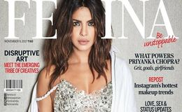 Priyanka Chopra Looks Hot And Sexy On New Shiny Magazine Cover: Pictures