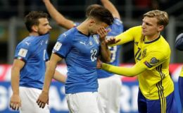 Italy Will Not Play In 2018 World Cup For First Time Since 1958: Sweden Clinches Russia 2018 Spot