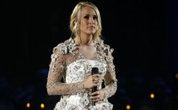 Singer Carrie Underwood Recovering After Breaking Wrist In Fall