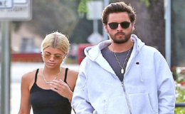 Sofia Richie Shows Off Abs In Crop Top While Strolling Out With Boyfriend Scott Disick in LA