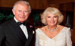 Prince Charles and Wife Camilla, Duchess of Cornwall, Release 2017 Christmas Card