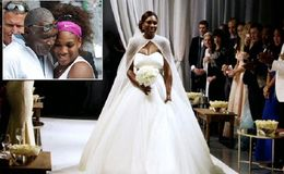 Serena Williams Reveals Why Her Father Didn't Walk Her Down The Aisle at Her 2017 Wedding