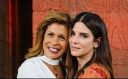 Ocean's 8 Star Sandra Bullock Bonds with Hoda Kotb Over Motherhood