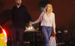 Jennifer Lawrence and Her Boyfriend Cooke Maroney Kiss During a Dinner Date in NYC: Photos
