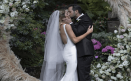 Ashley Greene and Paul Khoury Gets Married in a Star-Studded Wedding Ceremony in Forest: Photo