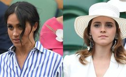 Emma Watson and Meghan Markle Alike; Wear Similar Dress at Wimbledon 2018