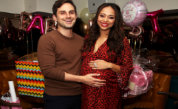 Amber Stevens Is Pregnant With a Baby Girl, Celebrates Baby Shower With Husband Andrew J. West