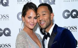Chrissy Teigen's First Red Carpet Appearance With Husband John Legend Since Giving Birth