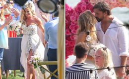 Actress Denise Richards Marries Boyfriend Aaron Phypers in Malibu: Wedding Video