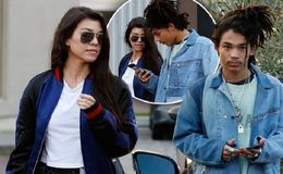 Kourtney Kardashian Steps Out for Dinner With Model Luka Sabbat: Photo