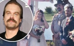 'Stranger Things' Star David Harbour Officiates Fan's Wedding After Twitter Challenge