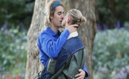Justin Bieber and Hailey Baldwin Pack on PDA, Share Kisses in London After Courthouse Wedding