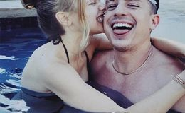 Halston Sage and Charlie Puth Packs on PDA in a Pool Amid Dating Rumors