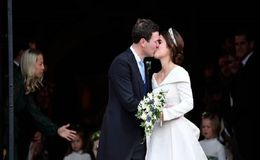Princess Eugenie Marries Longtime Boyfriend Jack Brooksbank in a Royal Wedding Ceremony