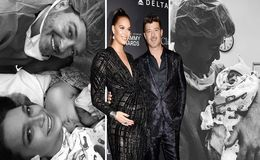 April Love Geary Gives Birth, Welcomes Second Child, a Baby Girl, With Robin Thicke