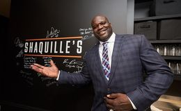 Shaquille O'Neal opens New Restaurant across Staples Center;  Attended  by Adam Sandler, Diplo and Tiffany Haddish