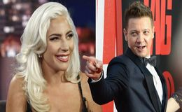 Lady Gaga Leans on Jeremy Renner After Christian Carino Split