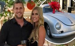 Pregnant Christina El Moussa Gifts Husband Ant Anstead a Vintage Car on His 40th Birthday