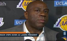 Magic Johnson Stepping Down from his Lakers' Presidency
