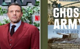 Ben Affleck Acting and Directing in World War II film