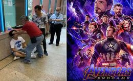 Fan Gets Beaten Down for Yelling Spoilers of Avengers: Endgame