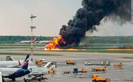 Russia Plane Crash: 41 Killed After Aeroflot Jet Caught Firer in Moscow Airport