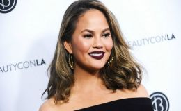 Chrissy Teigen Shares Nude Baby Bump Throwback Photo on Instagram